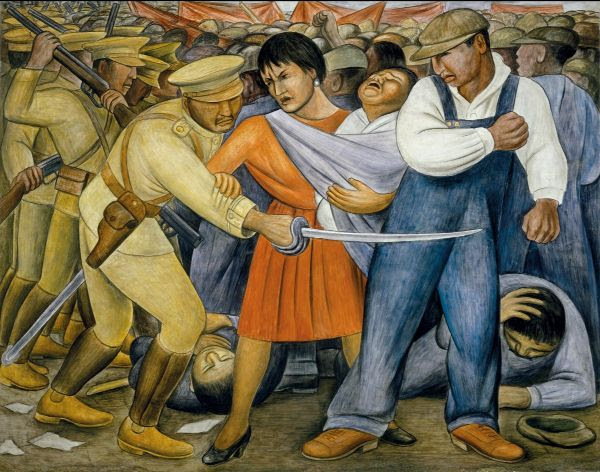 Diego Rivera, The Uprising, 1931.