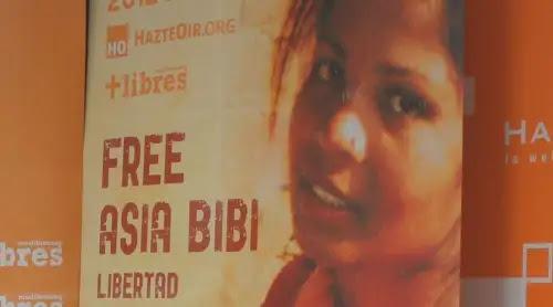 Liberan a Asia Bibi en Pakistán