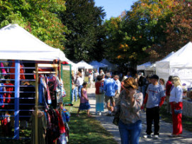 Town Day booths