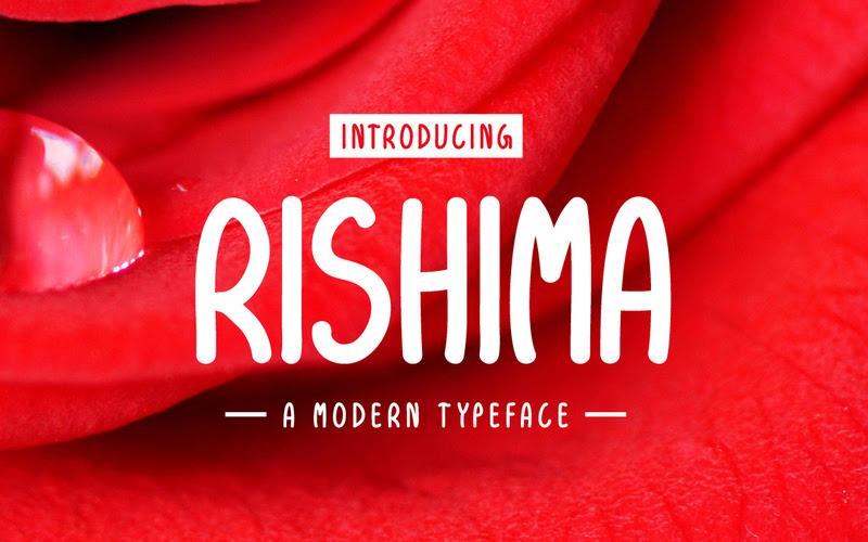 Rishima Modern Typeface