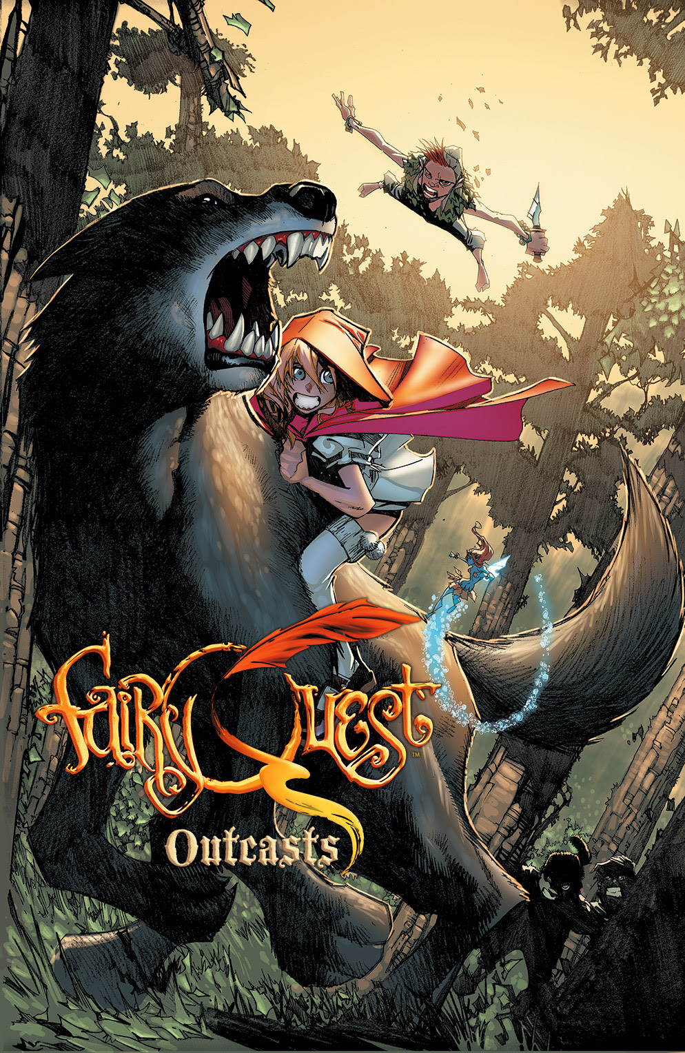 FAIRY QUEST: OUTCASTS #1 Cover A by Humberto Ramos