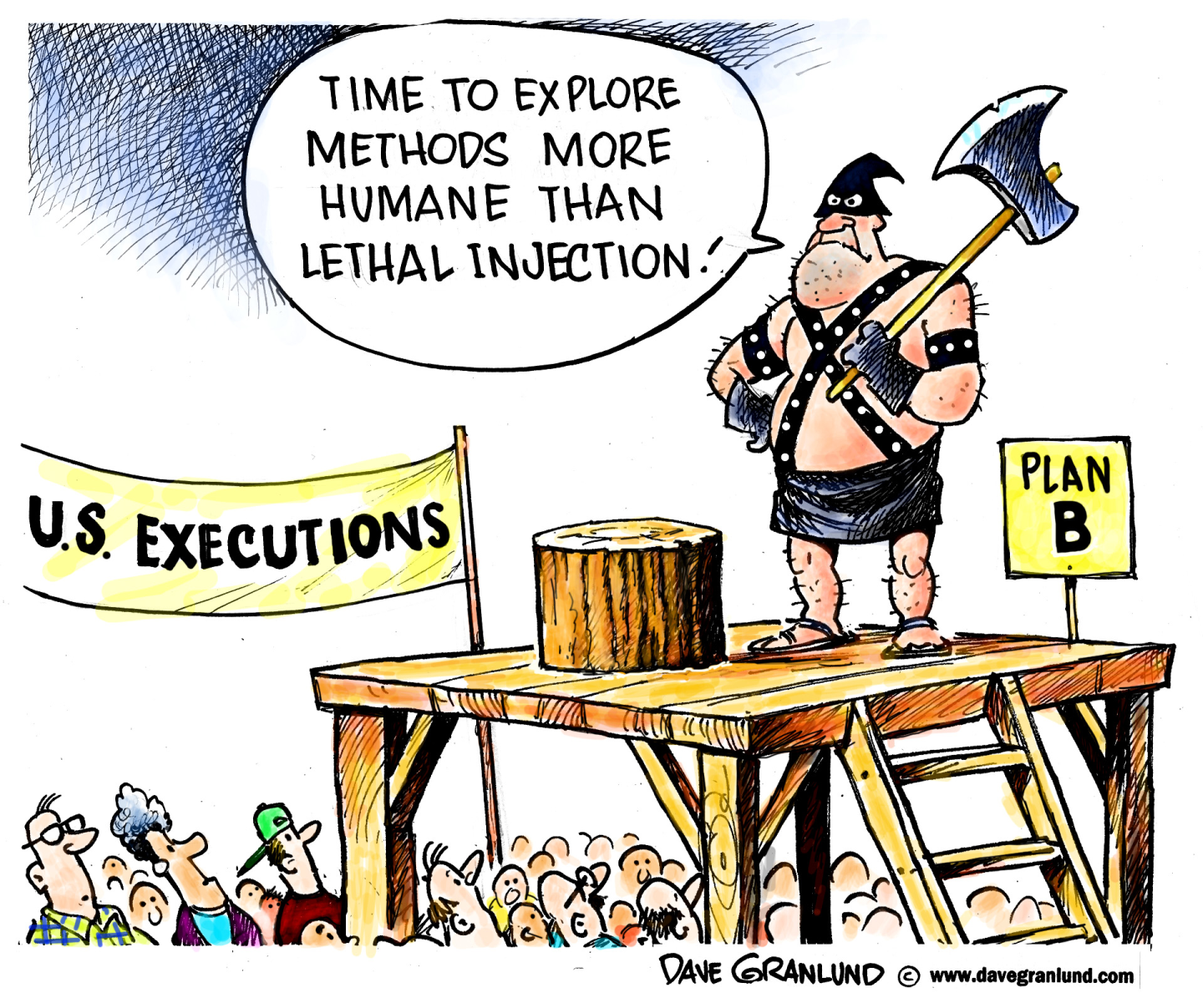 Systemic racism in Republican policies for executions.