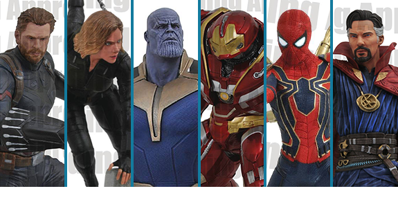 DIAMOND SELECT AVENGERS: INFINITY WAR STATUES & FIGURES