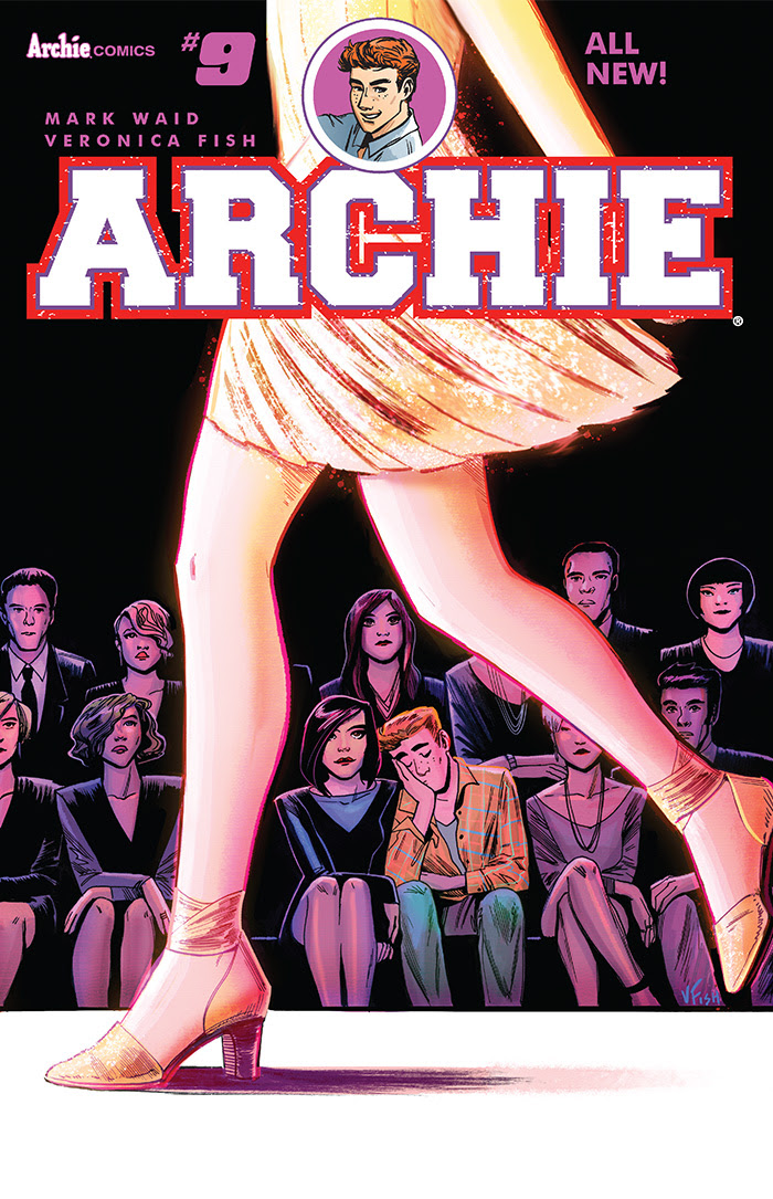 Archie #9 Cover by Veronica Fish