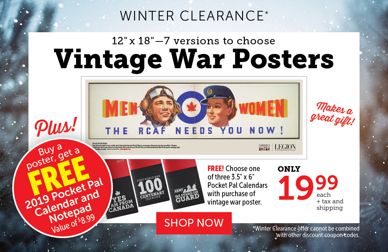 Vintage War Posters - Pocket Pal Giveaway