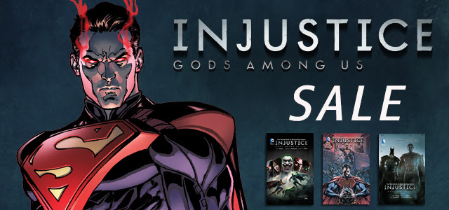 DC InJustice Gods Among Us Digital Sale