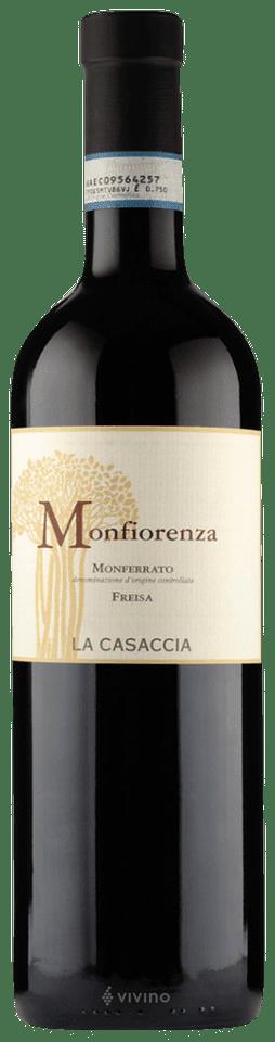 La Casaccia Monfiorenza Monferrato Freisa U.V.   Wine Info