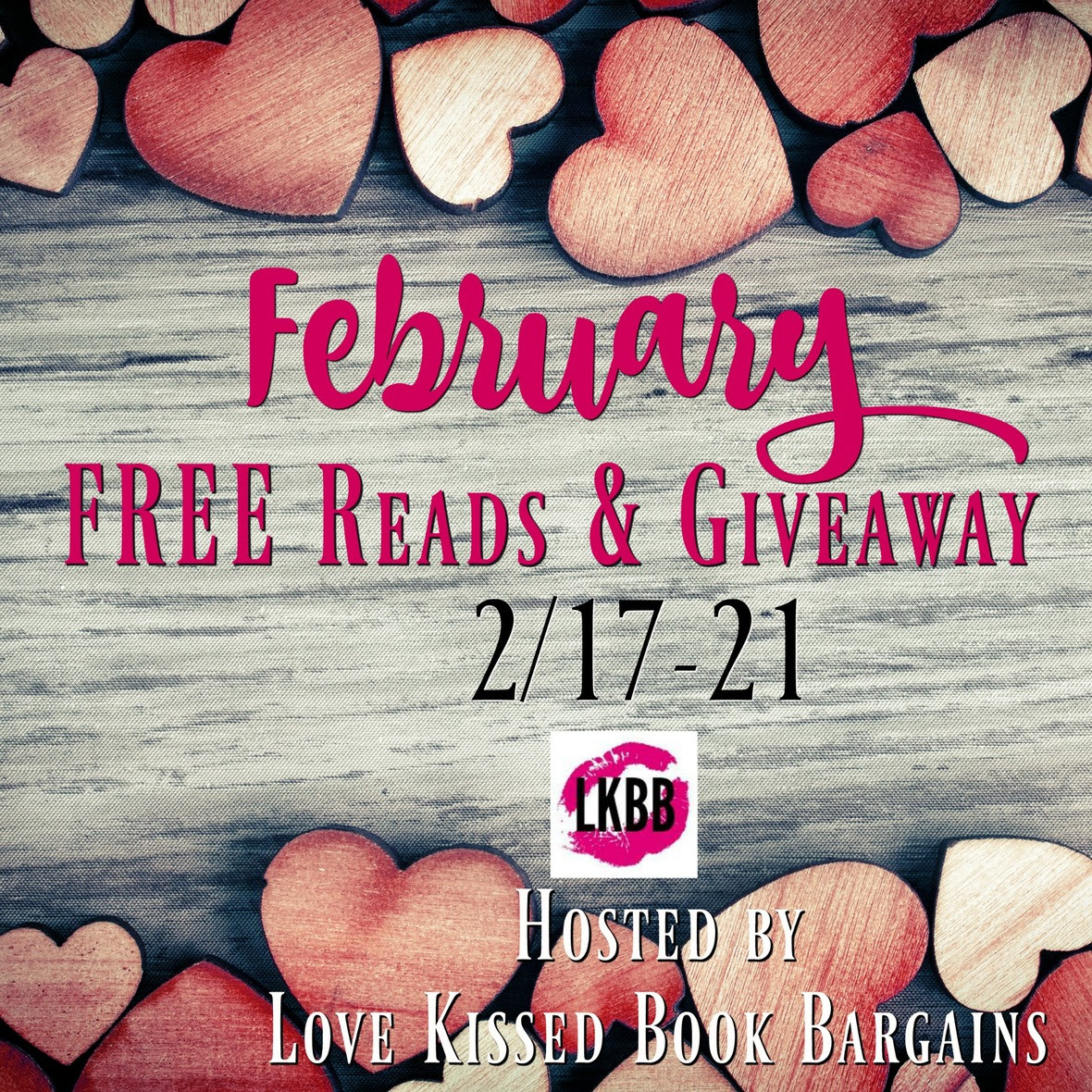 February FREE Reads   Giveaway