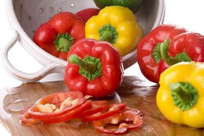 alimentos más alcalinos Pimientos