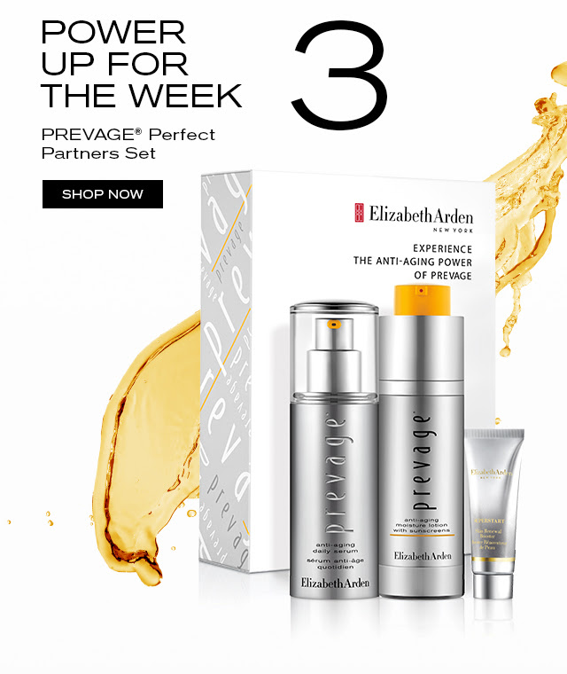 3 POWER UP FOR THE WEEK. PREVAGE® Perfect Partners Set. SHOP NOW