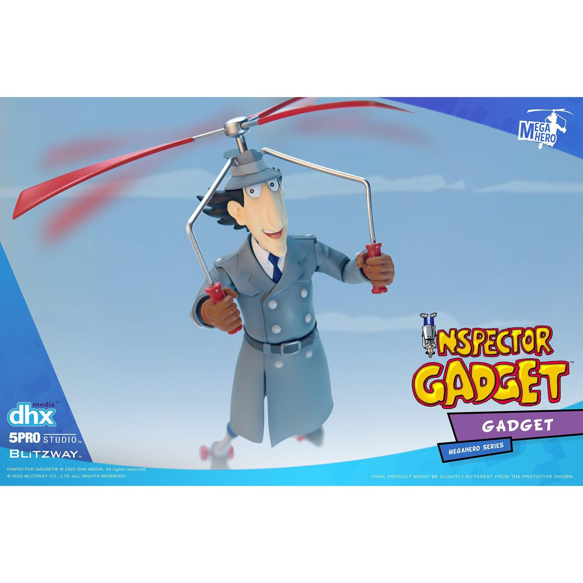 Image of Inspector Gadget MEGAHERO Series - Inspector Gadget 1:12 Scale Action Figure - Q4 2020
