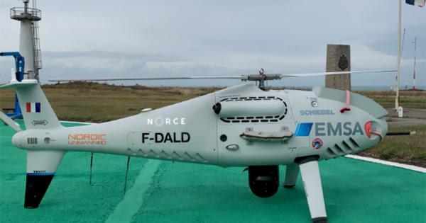 Pollution des navires: l'expérimentation du drone renifleur sera reconduite dans le Pas-de-Calais