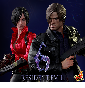 1/6 SCALE RESIDENT EVIL 6 FIGURES