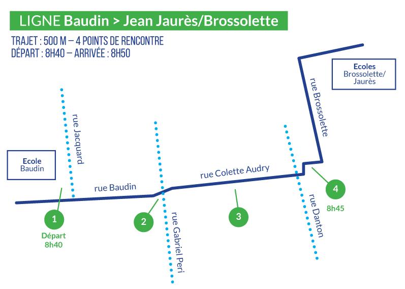 BAUDIN - JEAN JAURÈS-BROSSOLETTE