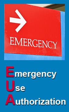 Emergency Use Authorization (EUA) banner