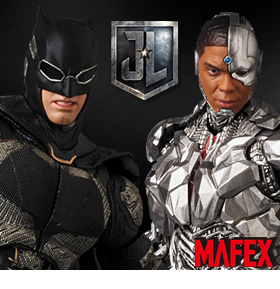 JUSTICE LEAGUE MAFEX FIGURES
