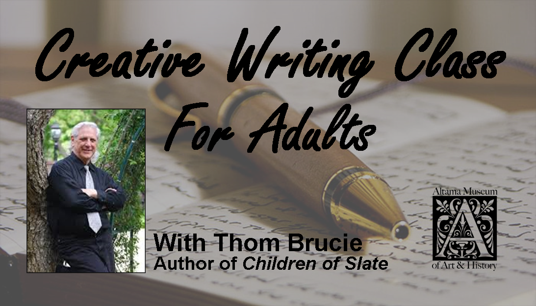 2019 Creative Writing Class for Adults - Altama Museum