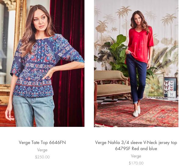 Shop Verge online