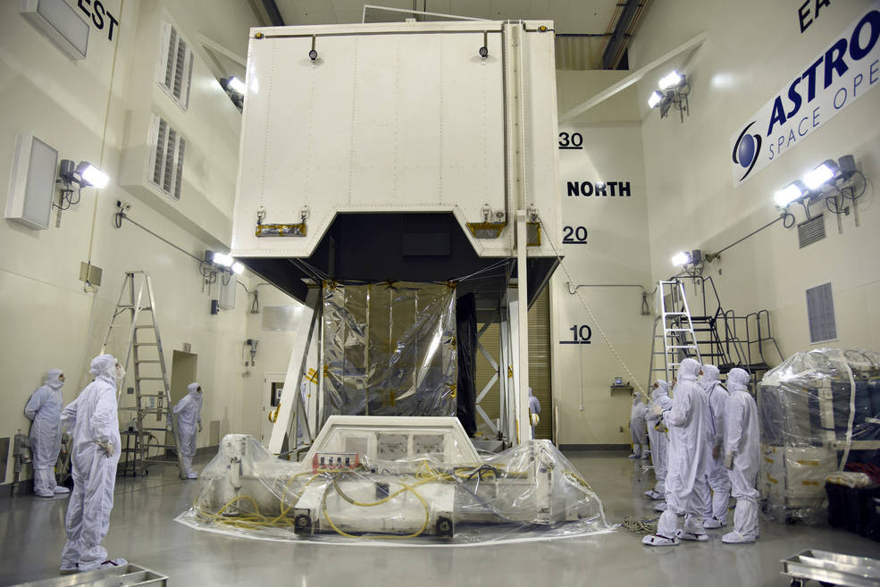 NASA's Ice, Cloud and land Elevation Satellite-2 (ICESat-2) spacecraft arrives at Vandenberg Air Force Base in California