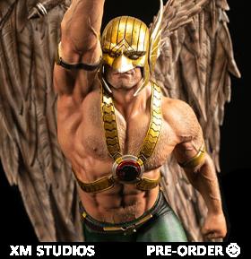 DC Rebirth Premium Collectibles Hawkman 1/6 Scale Limited Edition Statue With Plaque