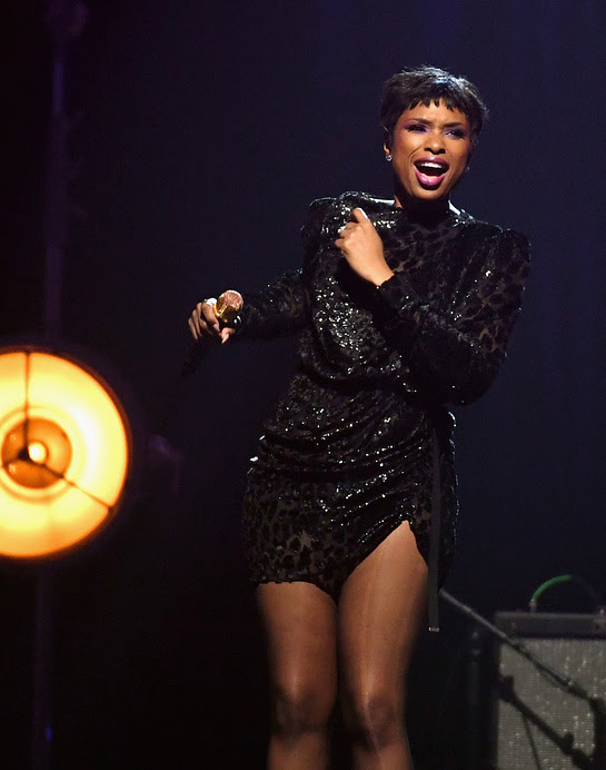 Jennifer Hudson Performs At Keep Memory Alive's 21st annual Power of Love gala