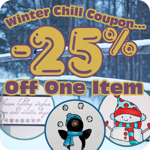 Get 25% off One Item with Coupon Code!