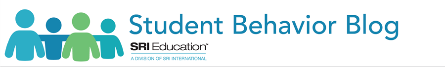 Student Behavior Blog and SRI Education logos