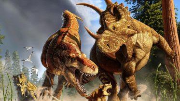 Tyrannosaur Daspletosaurus Spinops Coronosaurus
