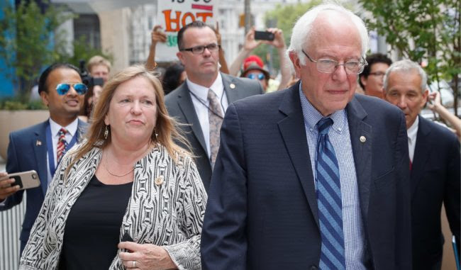 Bernie's 2020 Problem: Federal Probe of Wife's $10M Loan