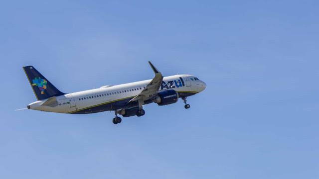 Azul projeta operar com 90% da sua capacidade doméstica em dezembro