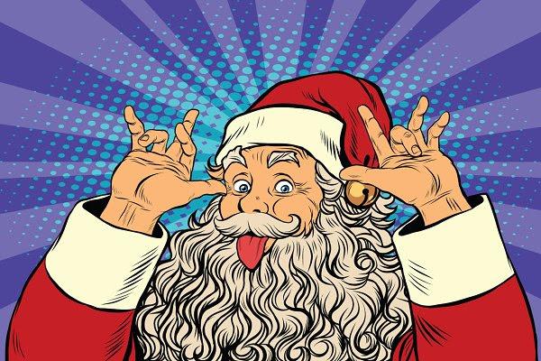 Santa Claus tease