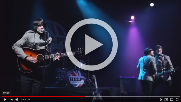 Help! A Beatles Tributes en concert