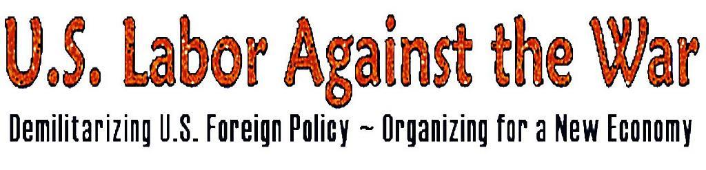 Movimiento Obrero Estadounidense contra la Guerra