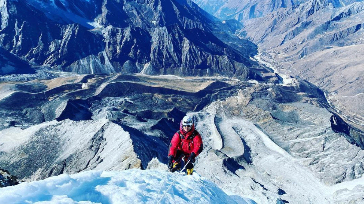 On Jan. 14, 2020, Nadhira al-Harthy became the first Arab woman to reach the summit of Mount Ama Dablam — about 22,000 feet — according to mountain records.