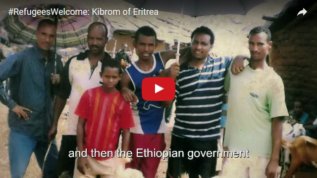 YouTube Embedded Video: #RefugeesWelcome: Kibrom of Eritrea