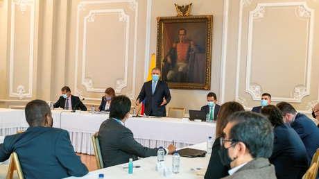 El Comité Nacional del Paro de Colombia no llega a un acuerdo con Duque y anuncia una nueva movilización para el 12 de mayo