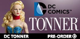 NEW TONNER DC FIGURES