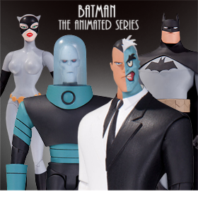 BATMAN THE ANIMATED SERIES - MR. FREEZE & TWO FACE