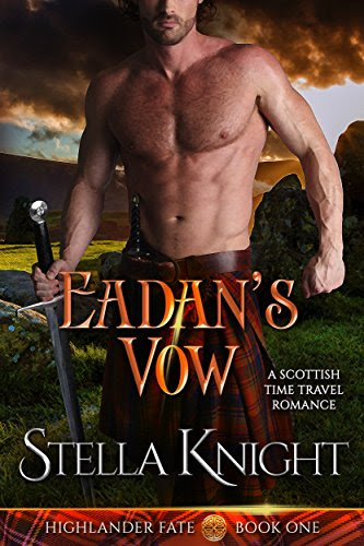 Cover for 'Eadan's Vow: A Scottish Time Travel Romance (Highlander Fate Book 1)'