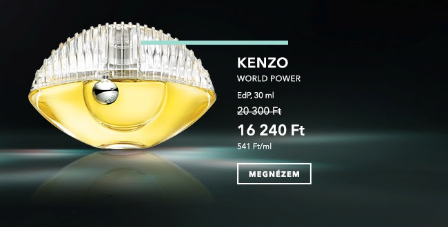 Designer Weeks - KENZO WORLD POWER