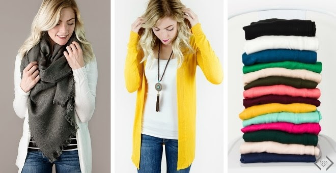Soft Open Front Cardigans + Mo...