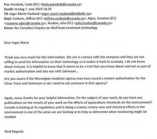 Norwegian Medicines Agency FOI reply on Imidacloprid 24 June 2021 #4