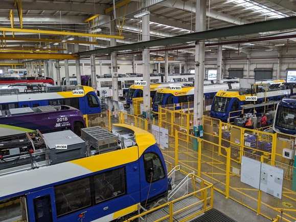 Weekly Construction Photo: Light Rail Vehicles in Production at Siemens' Plant in California