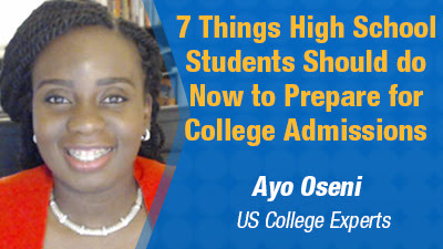 7 Things High School Students Should Do Now to Prepare for College