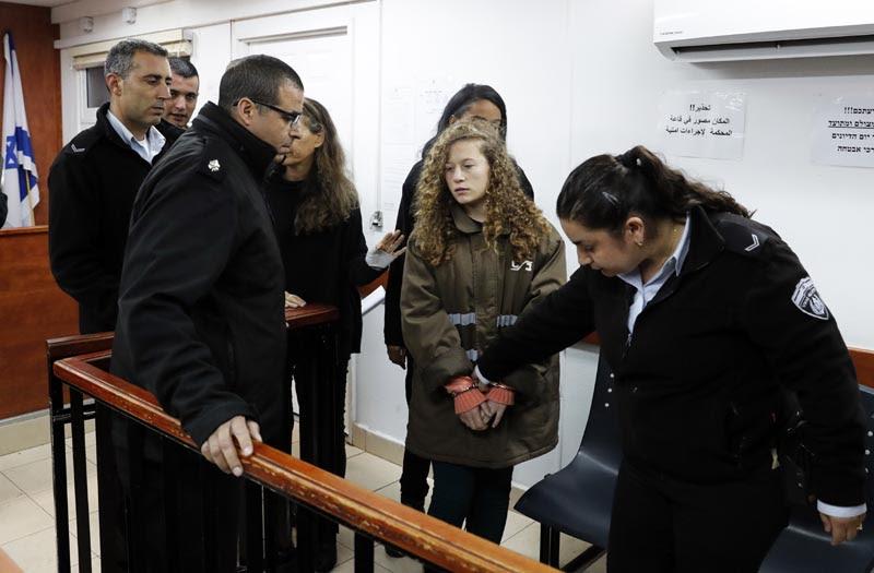Una niña frente a la ocupación: El caso de la palestina Ahed Tamimi