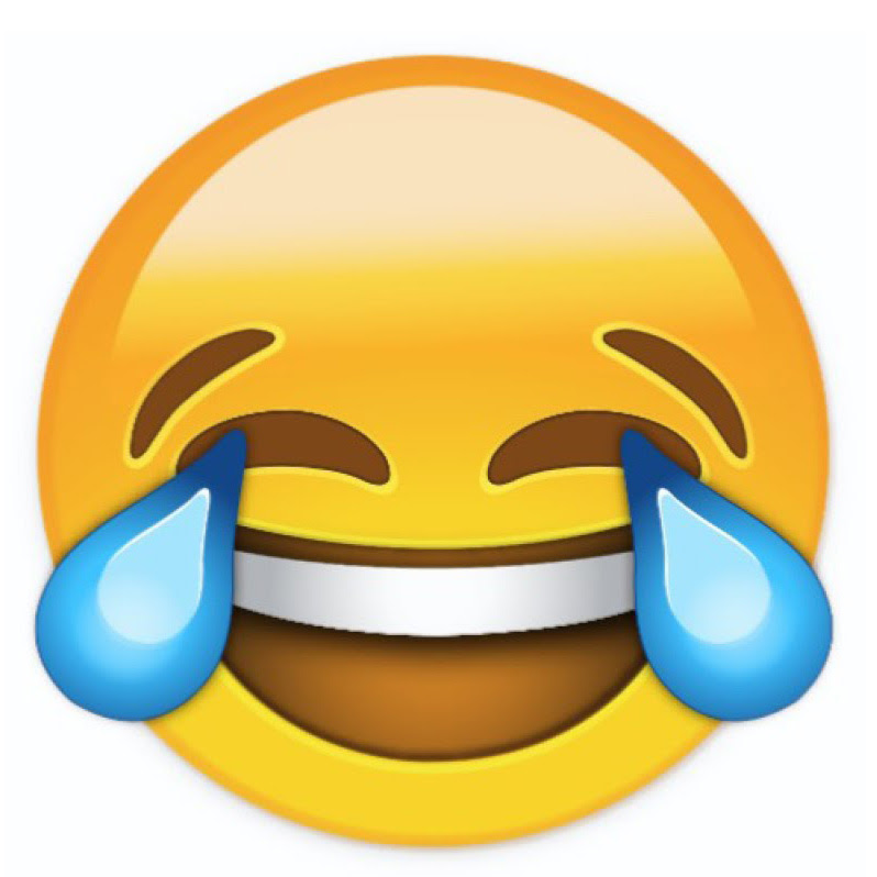 Image result for cry laughing emoji