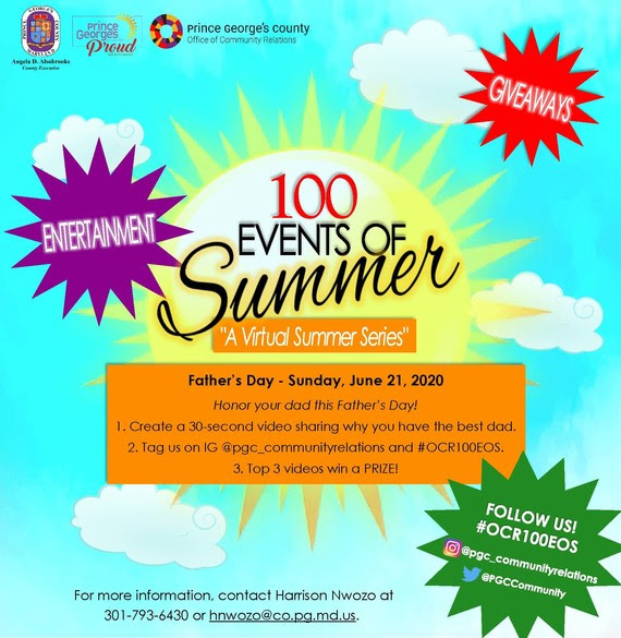 100 Events Father's Day