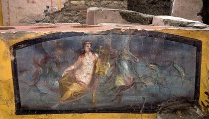 Ancient Pompeiians Stopped at This 'Snack Bar' to Feast on Snails, Fish and Wine