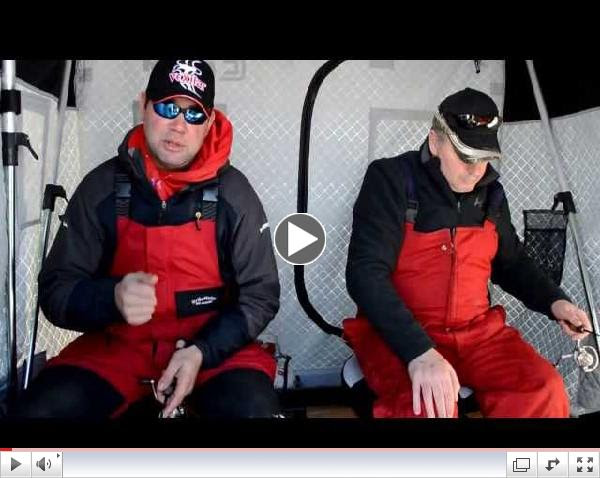 Ice Fishing Tip From Nick with the Perch Patrol