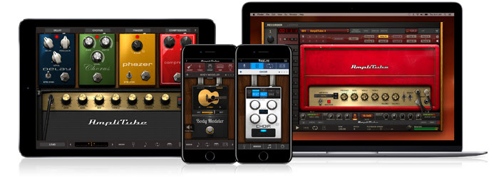 iRig Stomp I/O software suite